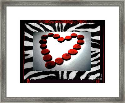 Love Comes Over You Framed Print by Molly McPherson