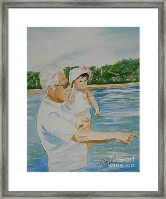 Love Costa Rica Framed Print