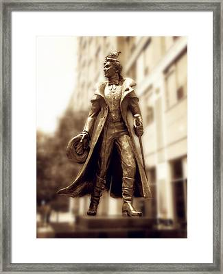 Framed Print featuring the photograph Love Courage Freedom by Zinvolle Art