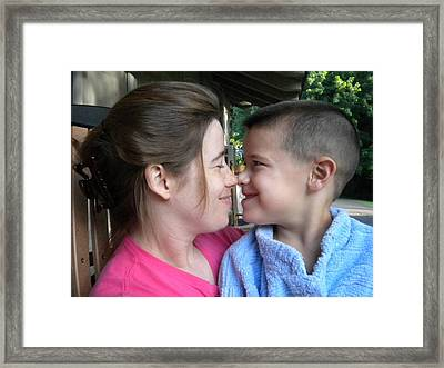 Framed Print featuring the photograph Love by Diannah Lynch