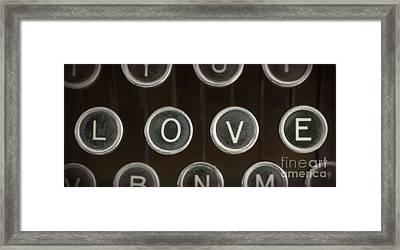 Love Framed Print by Edward Fielding