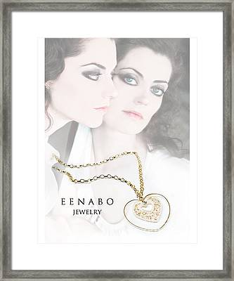 Love Framed Print by Eena Bo