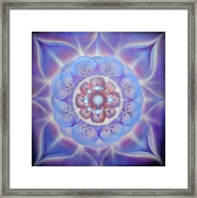 Love Framed Print by Elizabeth Zaikowski