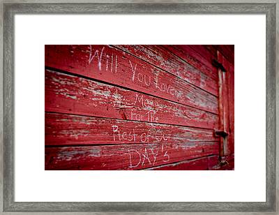 Love Eternal At Windsor Castle Framed Print
