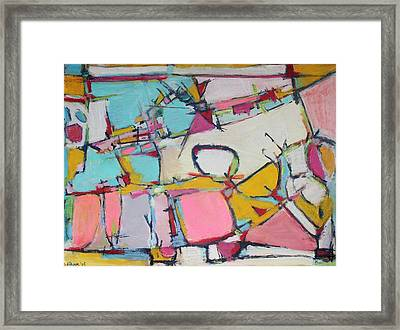Love Finds A Way Framed Print by Hari Thomas