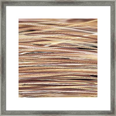 Love For Browns Framed Print by Lourry Legarde