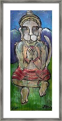 Love For Hanuman Framed Print