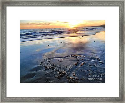 Love From The Bu Framed Print by Patricia Pushaw