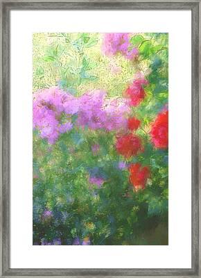 Love Garden Framed Print by The Art Of Marilyn Ridoutt-Greene