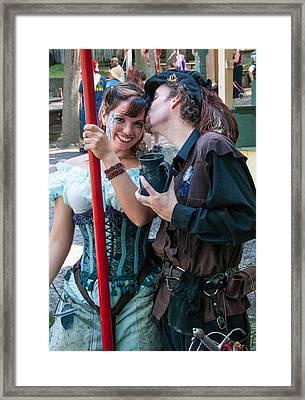 Love Framed Print by Guy Whiteley