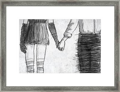 Love Framed Print by H James Hoff