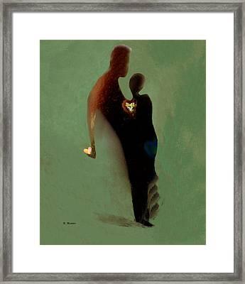 Love Framed Print by Haleh Mahbod