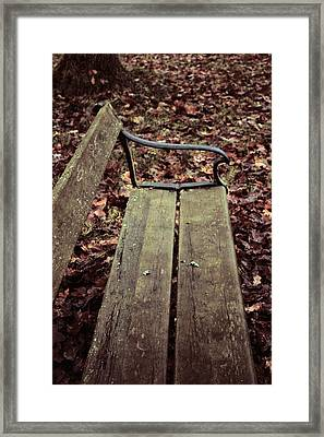 Love In B Minor Framed Print by Odd Jeppesen