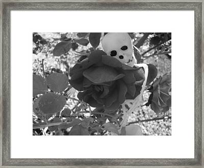 Love In Death Framed Print