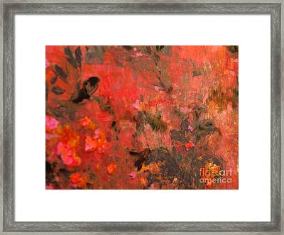 Love In Red 3 Framed Print