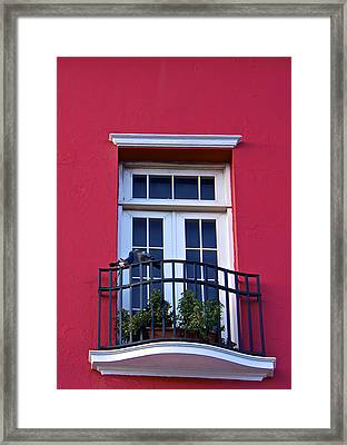 Love In San Juan Framed Print