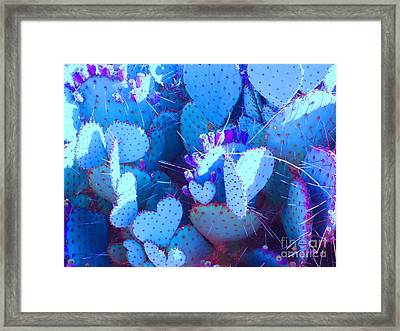 Framed Print featuring the photograph Love In The Desert by Ann Johndro-Collins