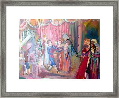 Love In The Making Framed Print