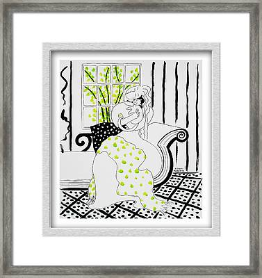 Love In The Spring Framed Print by Eve Riser Roberts