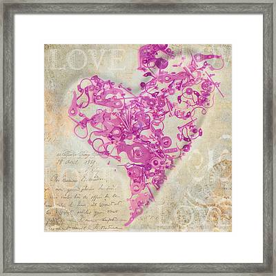 Love Is A Gift Framed Print