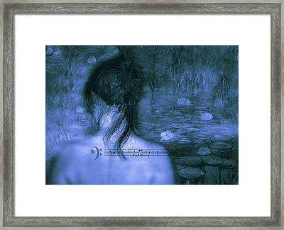 Love Is A Mystery Framed Print