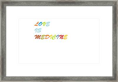 Love Is? Framed Print by Aaron Martens