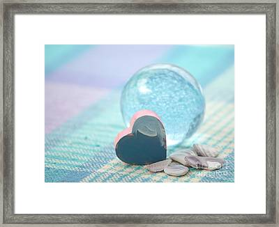 Love Is All Around Framed Print