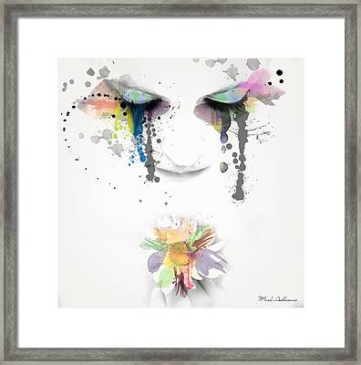 Love Is All We Need  Framed Print by Mark Ashkenazi