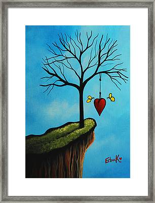 Love Is All We Need Original Artwork Framed Print by Shawna Erback