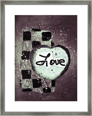 Love Is All You Need Framed Print by Patricia Januszkiewicz