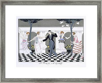 Love Is Blind Framed Print