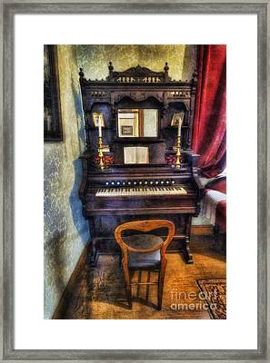 Love Is Called My Old Piano Framed Print by Ian Mitchell