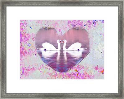 Love Is Everywhere Framed Print by Bill Cannon