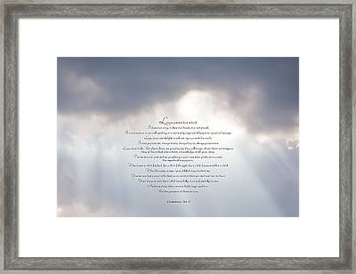 Love Is - II Framed Print