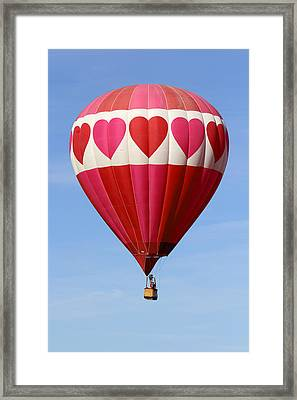 Love Is In The Air Framed Print by Mike McGlothlen