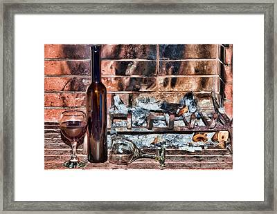 Love Is Lost 2 Framed Print by Roy Pedersen