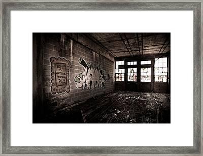 Love Is Watching Someone Die Framed Print by Priya Ghose