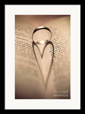 Wedding Ring Framed Prints