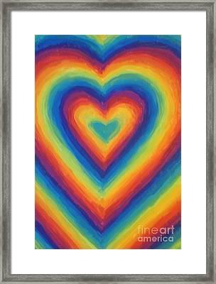 Love Framed Print by Jedidiah Morley