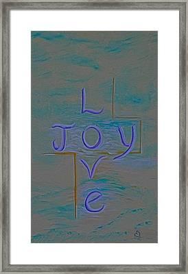 Love Joy Framed Print by Mary Grabill