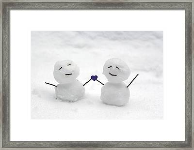 Love Framed Print by Karin Pinkham