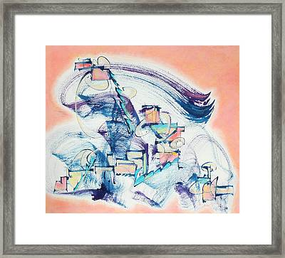 Love Leading The Way Framed Print by Asha Carolyn Young