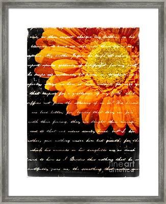 Love Letters Framed Print by Edward Fielding