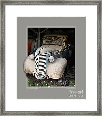Love Letters In The Dust Framed Print by Rick Kelly