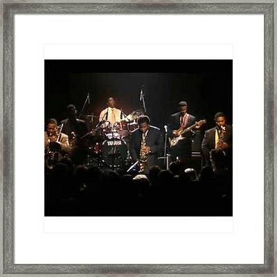 Love Listening To Maceo Parker And Framed Print