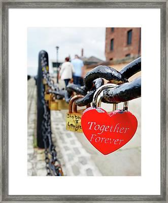Love Locks Framed Print by Cordelia Molloy