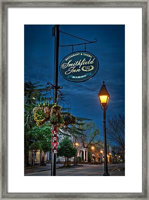 Love Main Street Before Dawn Framed Print