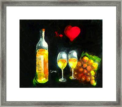 Love  Framed Print by Marcello Cicchini