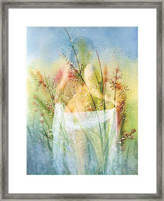 Love Me In The Misty Dawn Framed Print