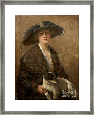 Love Me Love My Dog Framed Print by Celestial Images